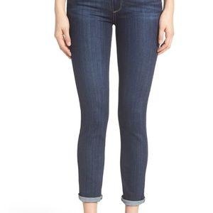 PAIGE Denim Transcend Skyline Crop Skinny Jeans